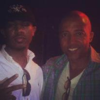Hanging out with the former president of Def Jam